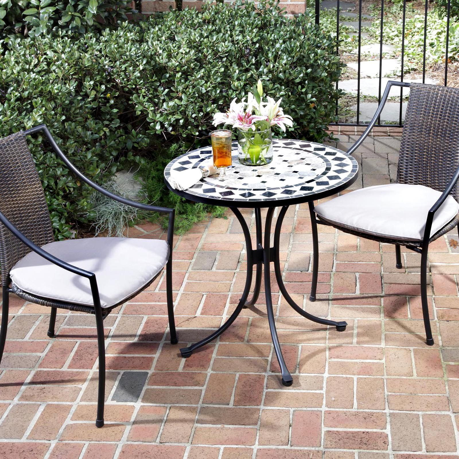 Have To Have It. Home Styles Marble Mosaic Bistro Set