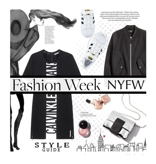 Pack for NYFW by edenslove on Polyvore featuring Calvin Klein Jeans and adidas