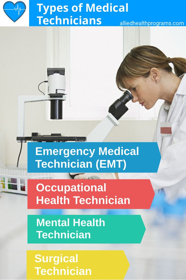 Medical technician overview programs degrees and careers
