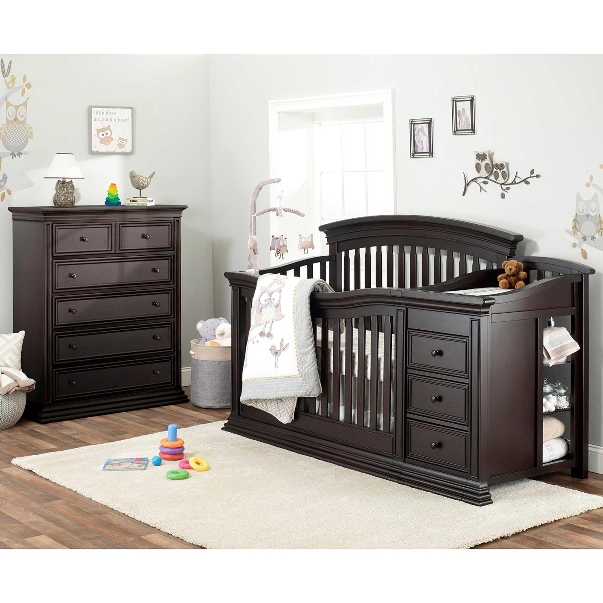 Sorelle Sedona Nursery Furniture Collection In Espresso Nursery