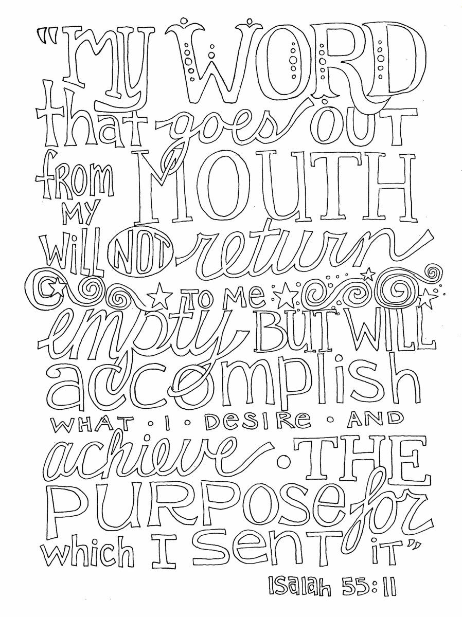 God's Word carries great power, joy, comfort, and