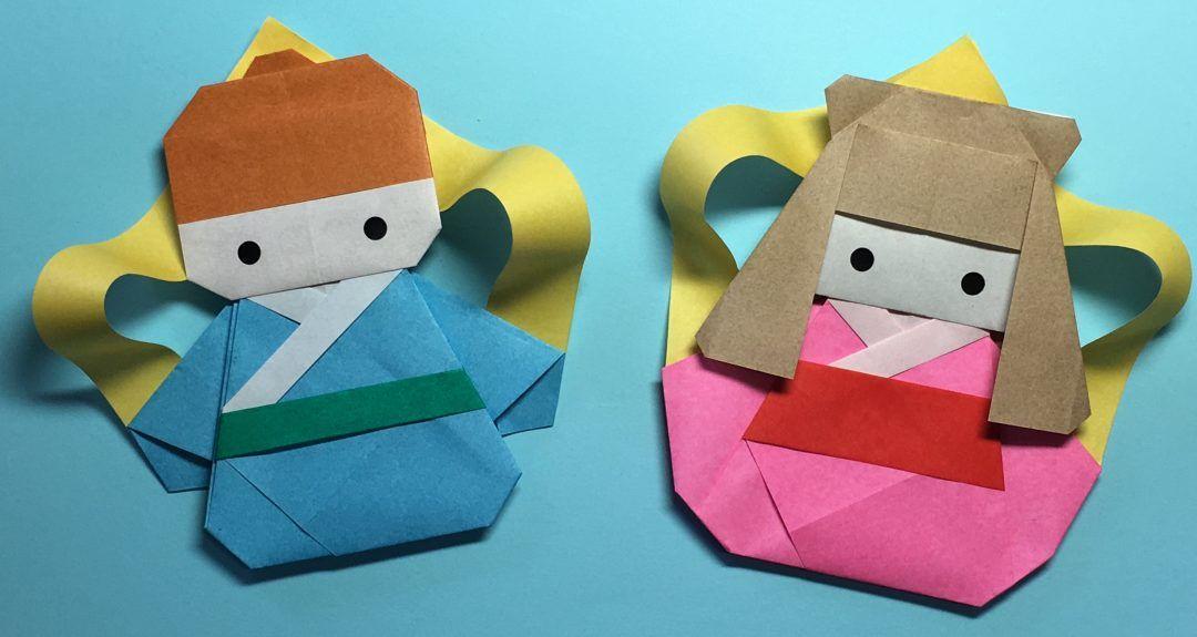 Oriya小町さんによる 織姫 彦星の折り紙です 七夕にぜひ折って欲しい 可愛らしい折り紙の織姫と彦星の飾りです 七夕 飾り おしゃれ 七夕 おりがみ 七夕 飾り 子ども