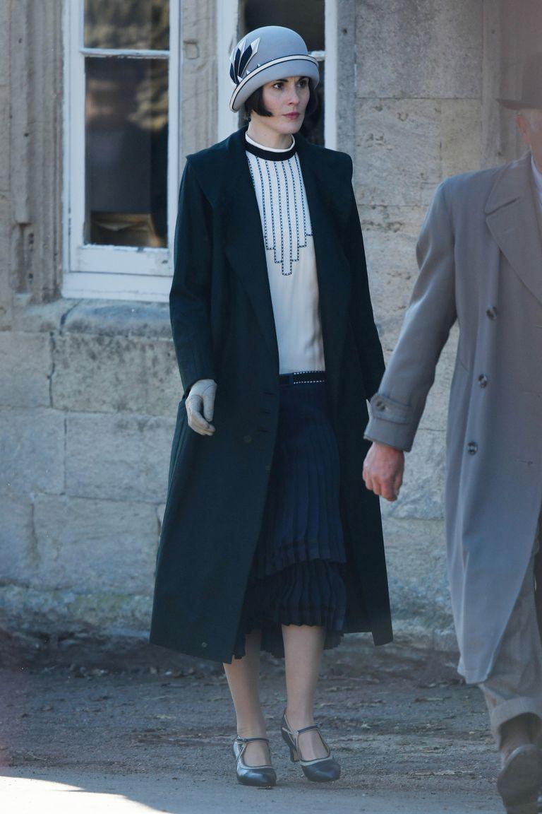 Downton Abbey Movie Set Photos - Sneak Peek of Michelle Dockery in the Downton Abbey Film
