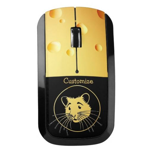 Mouse Power Swiss Cheese Wireless Mouse 2 | Zazzle.com | Swiss cheese. Computer mouse