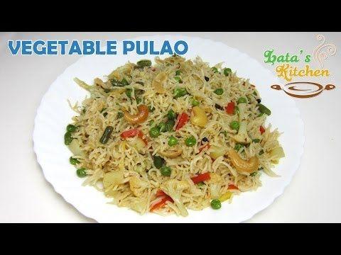 vegetable pulao recipe video veggie pulav rice indian vegetable pulao recipe video veggie pulav rice indian vegetarian recipe by lata forumfinder Choice Image