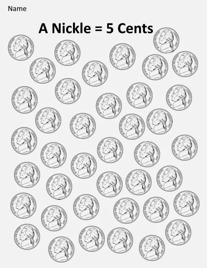 Kindergarten And Mooneyisms Coins Part Two A Nickel 5 Cents Kindergarten Money Worksheets Kindergarten Worksheets Kindergarten Phonics Worksheets [ 1100 x 850 Pixel ]