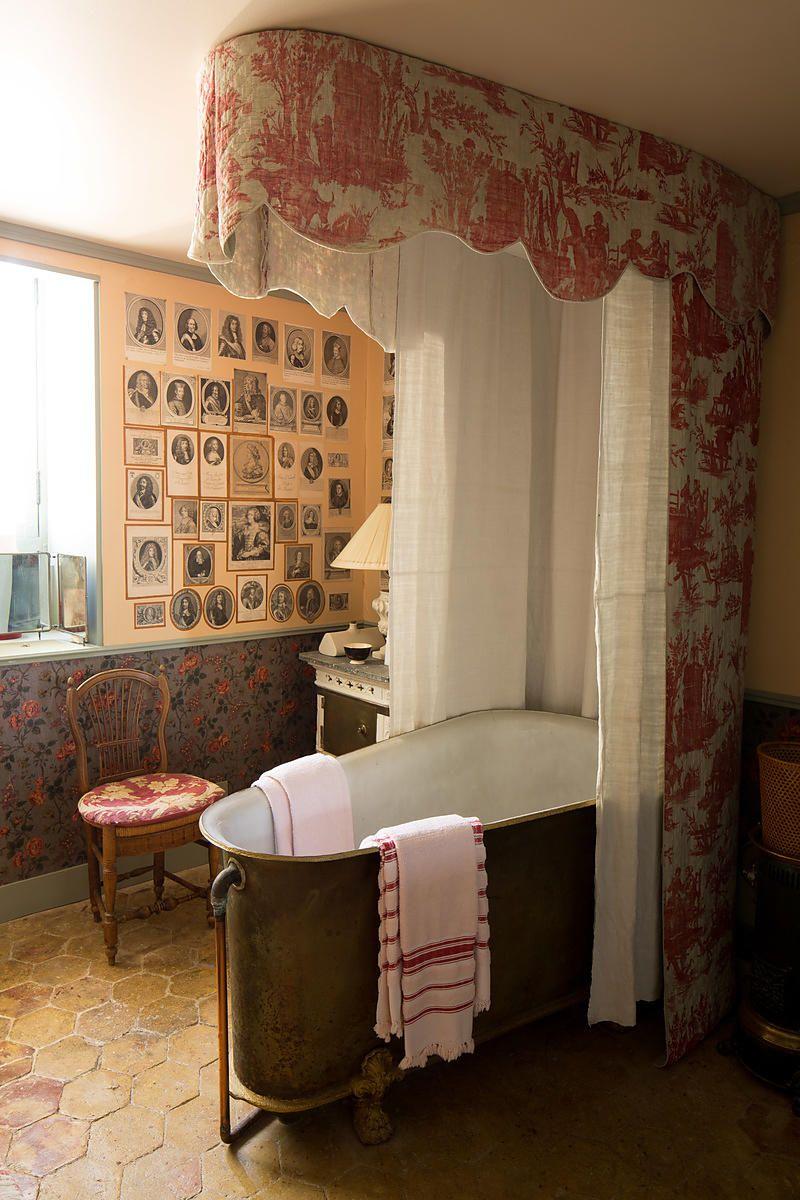 Meuble Salle De Bain Ikea Colonne ~ ch teau du champ de bataille salles de bains pinterest vintage