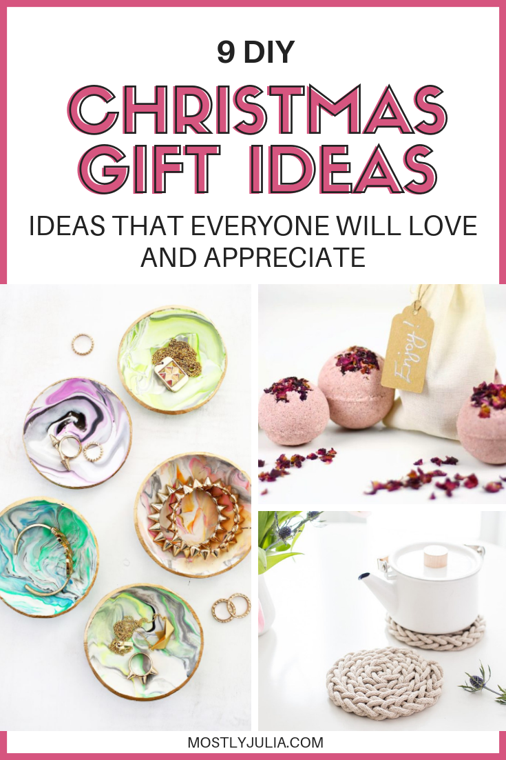 9 DIY Christmas Gift Ideas That Everyone Will Appreciate | Gift ...