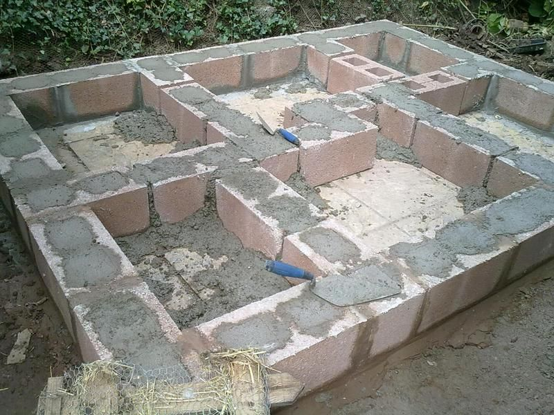 Having trouble building a shed base. Shed base, Building