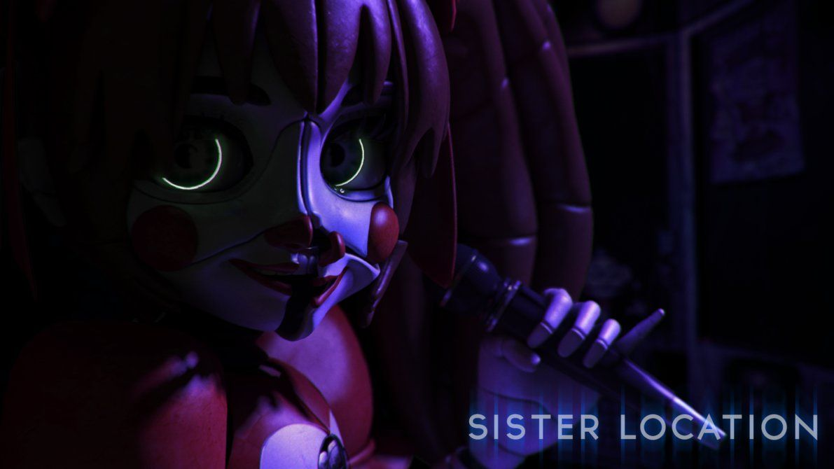 Sister Location Stylised Baby Wallpaper By Qutiix On Deviantart