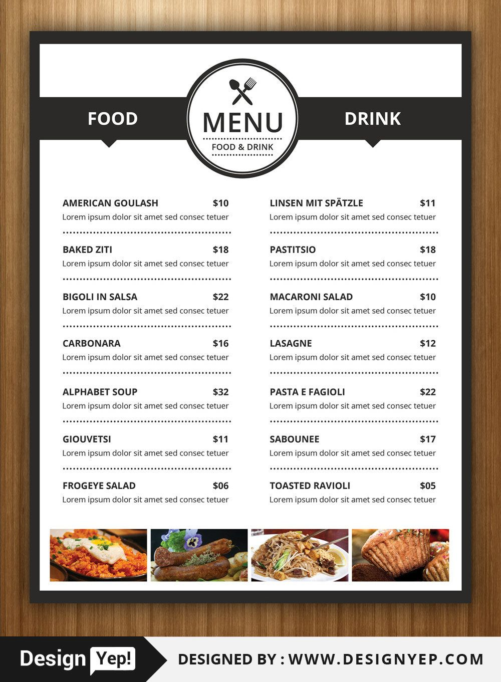 The Marvellous 40 Restaurant Food Menu Design Psd Templates Decolore Within Mexican Menu Template Free Dow Food Menu Design Food Menu Menu Design Template