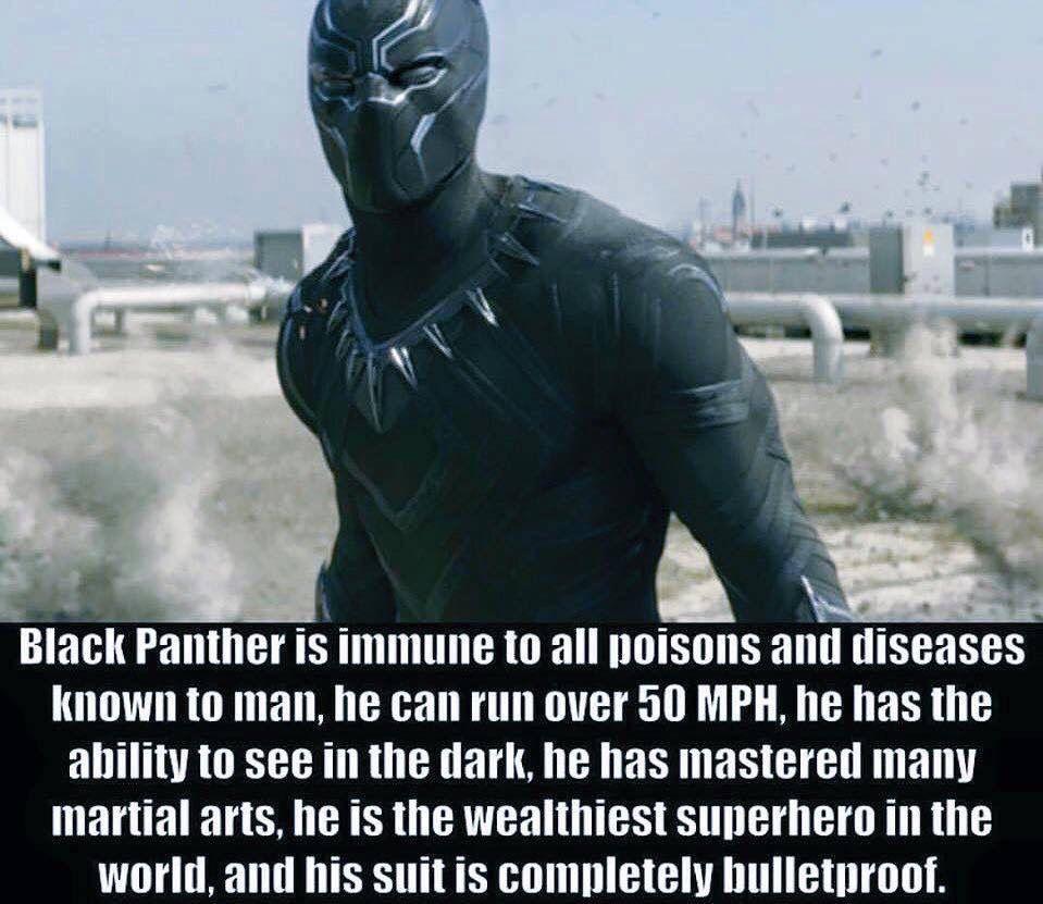 Black Panther Civil War Iron Man Captain America