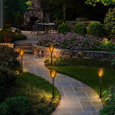 TORCHSTAR Photo voltaic Powered LED Pathway Mild Pack