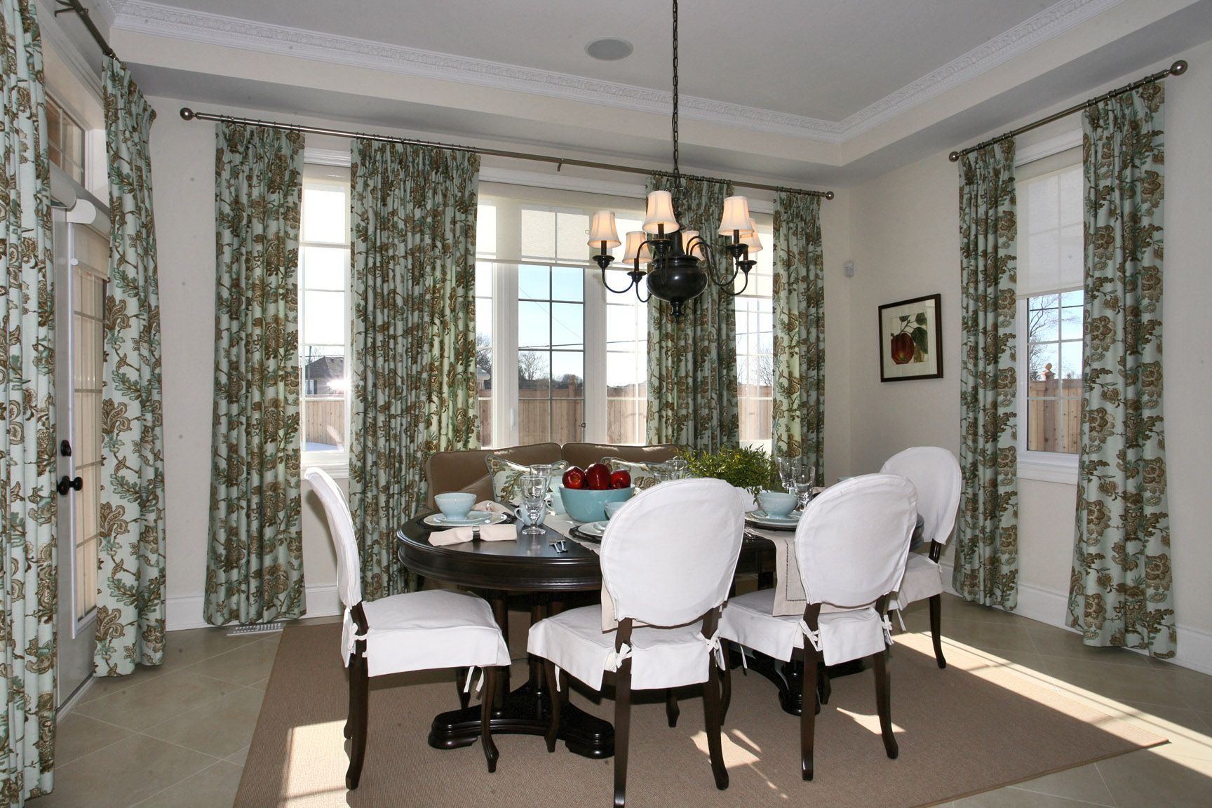 Back Dining Chairs, Curved Back Dining Room Chair Covers