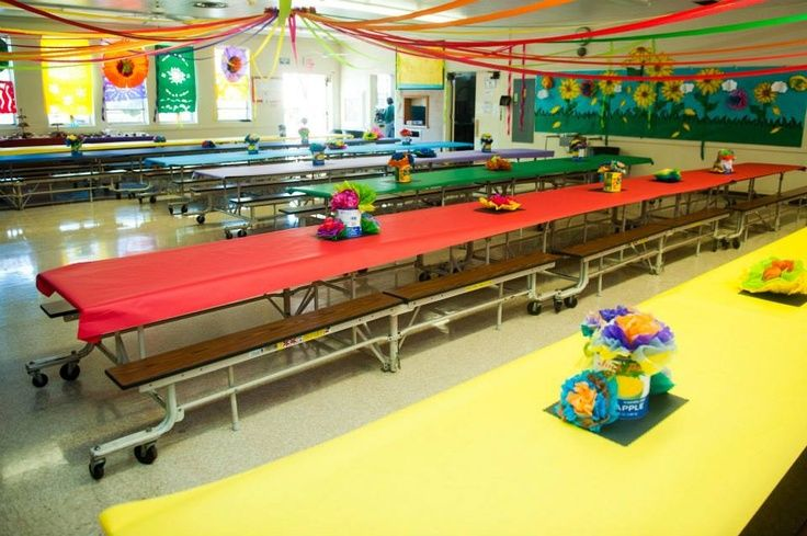 How To Decorate School Cafeteria For Carnival