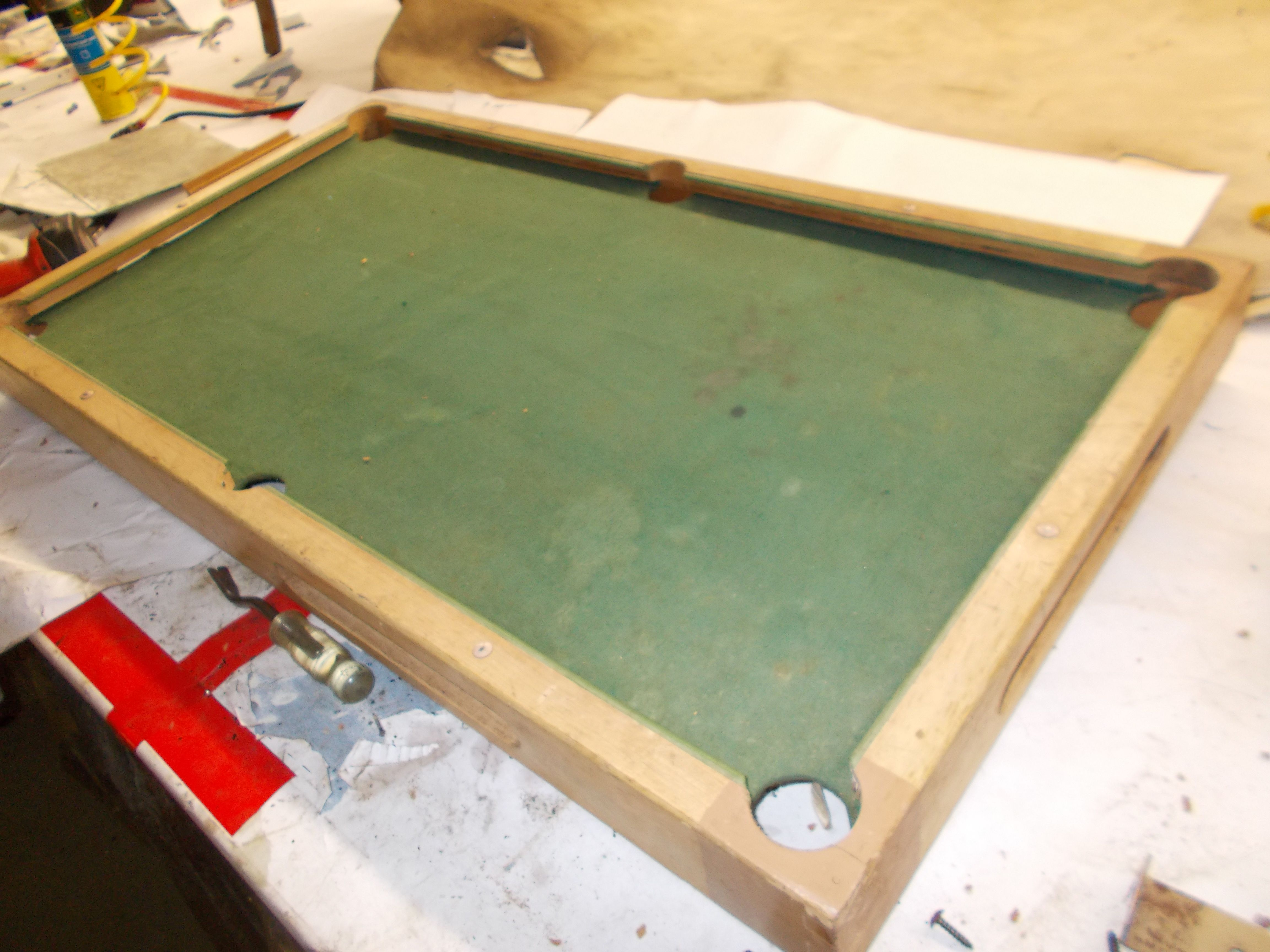 Mini Pool Table Into Coffee Table For Billiard Lovers Before Total - Pool table disassembly