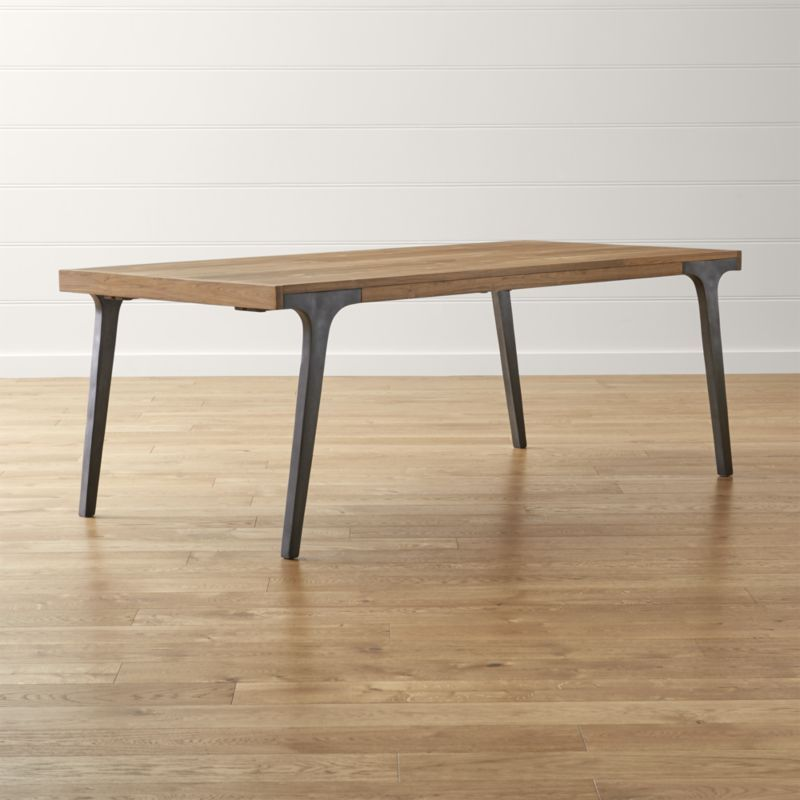lakin recycled teak extendable dining table | teak, crate and, Esstisch ideennn