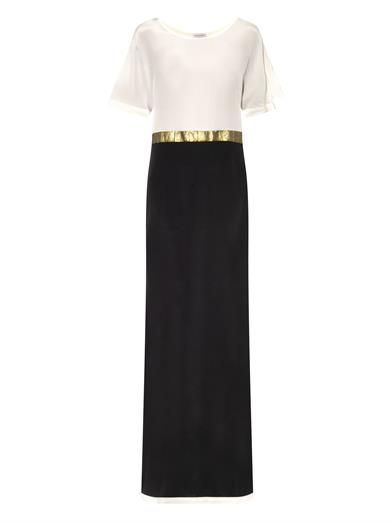ff4a4464f53 Sifnos panelled silk maxi dress