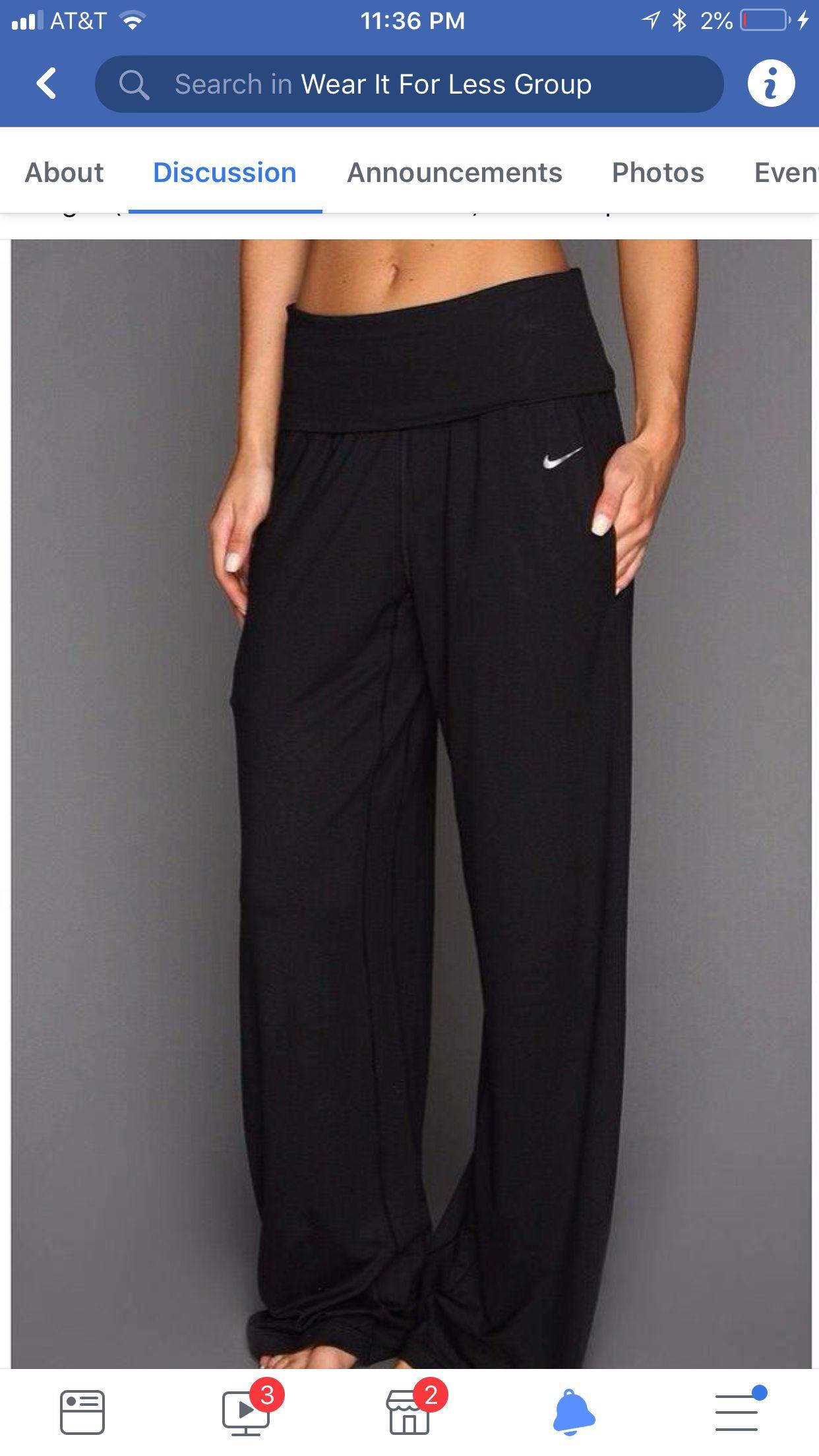 5d3545c085470d Nike Yoga Pants - these look so comfy! I love comfy!!