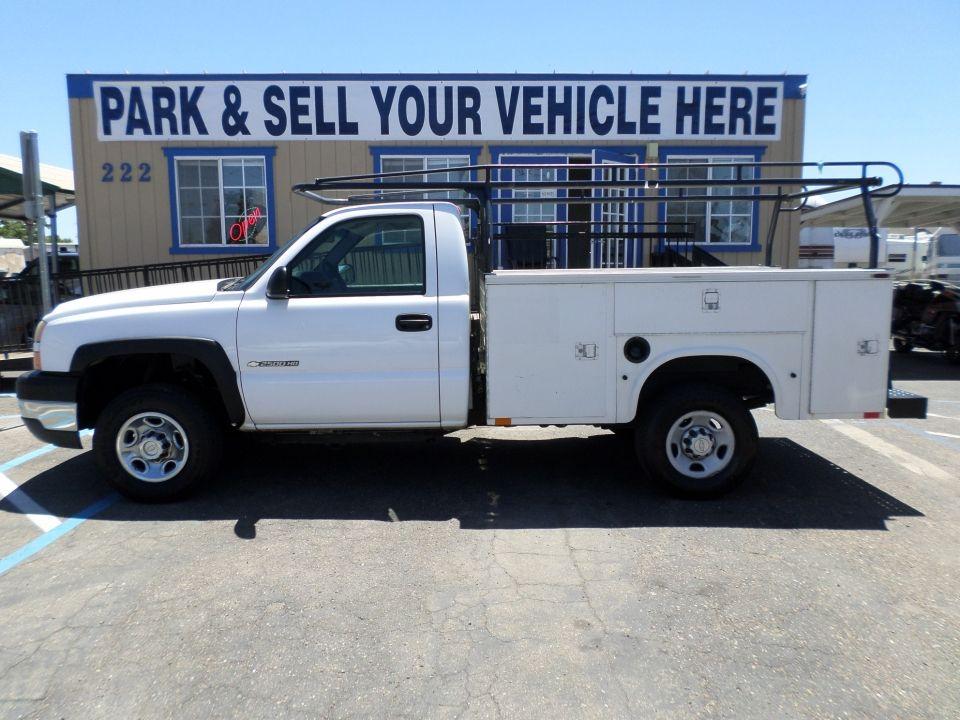 Truck For Sale 2006 Chevrolet 2500 Hd Service Body In Lodi