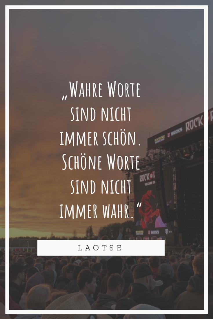 Wahre Worte - Laotse
