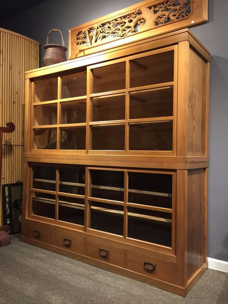 Wonderful Japanese Antique Display Cabinet Big Sale Get 30 Off