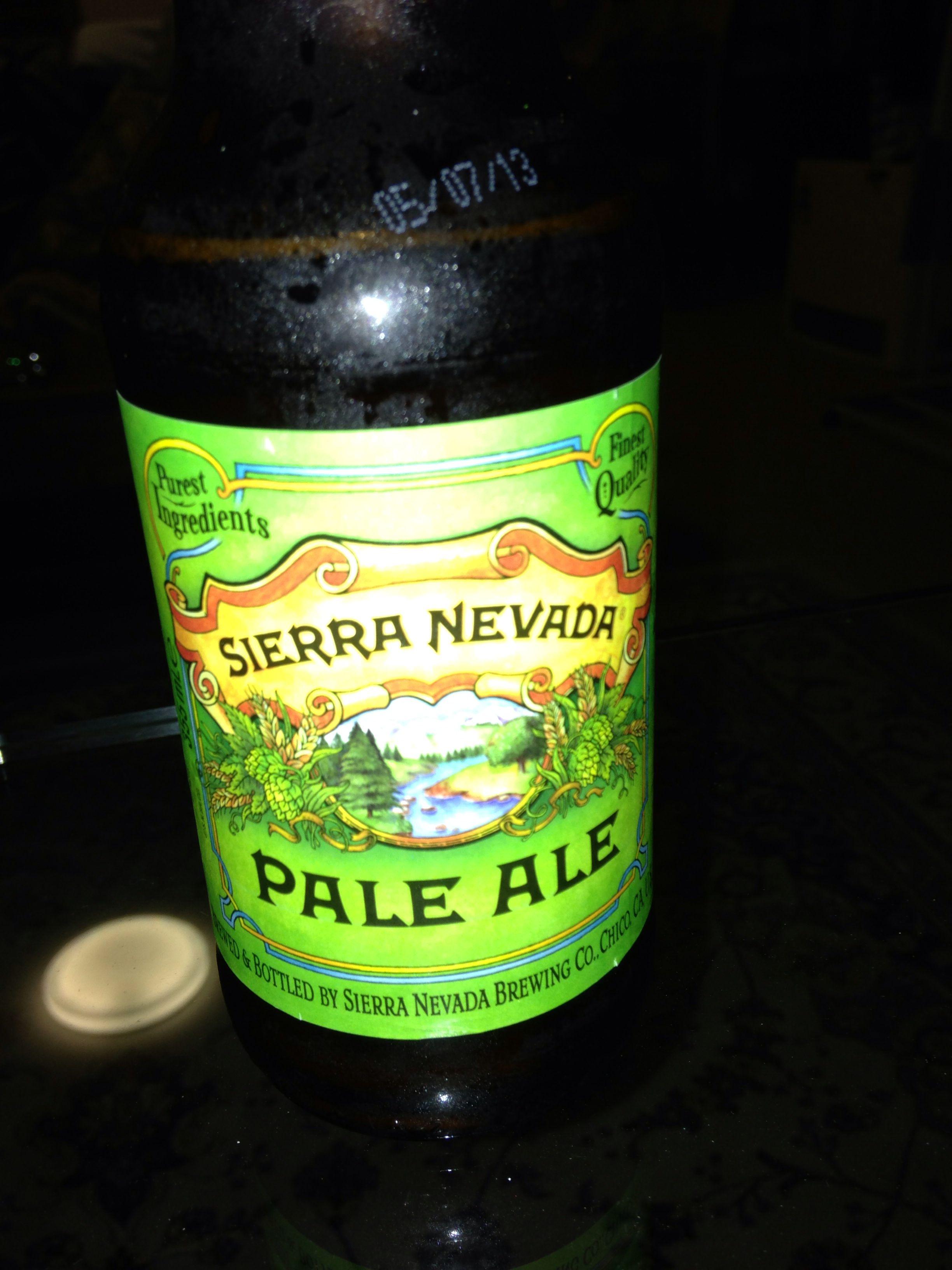 Sierra Nevada pale ale #beer