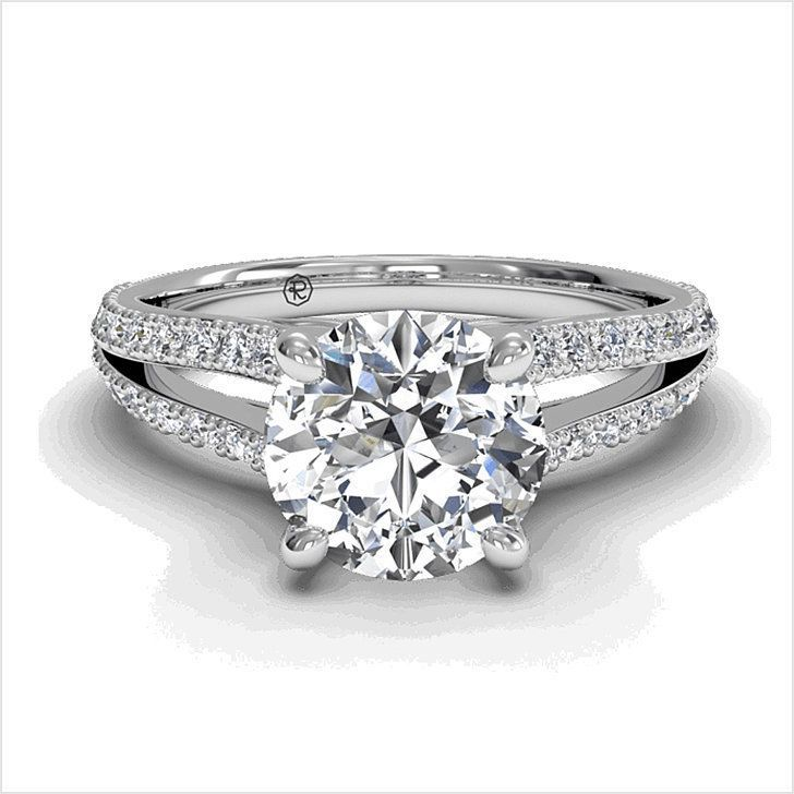 Exclusive Style Engagement Band Elegance Accessories Finger For Women Wedding Rings Large Circle