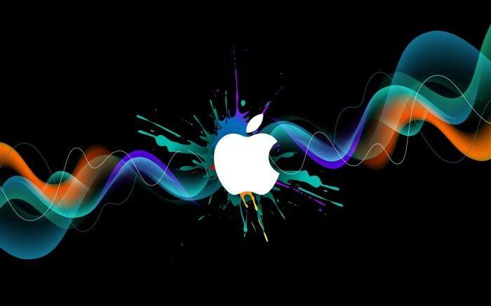 Colorful Apple Graffiti