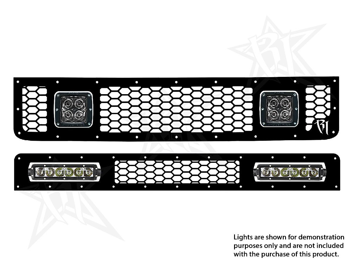 Rigid Industries 13 Toyota Fj Cruiser Led Grille Kit