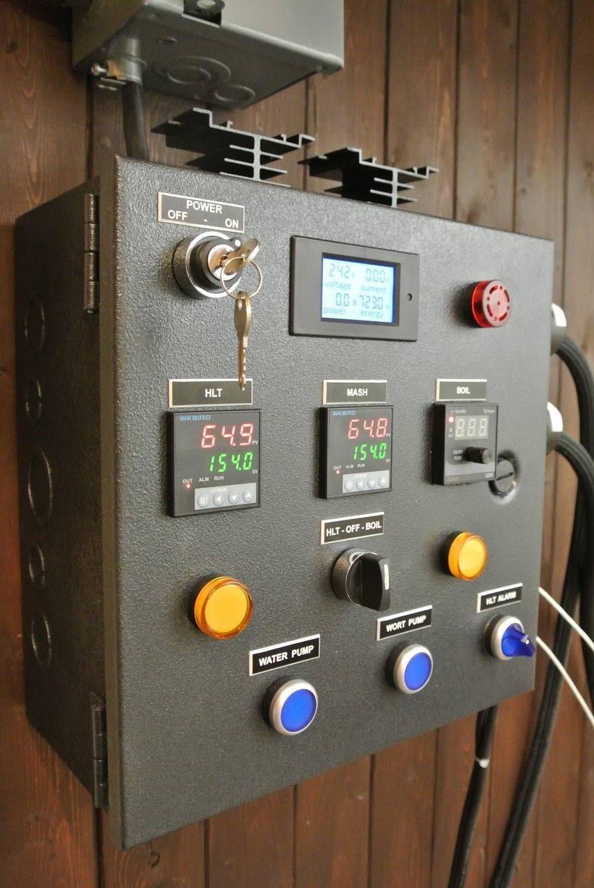 How To Build A Brewing Control Panel Herms 240v 30 Amp