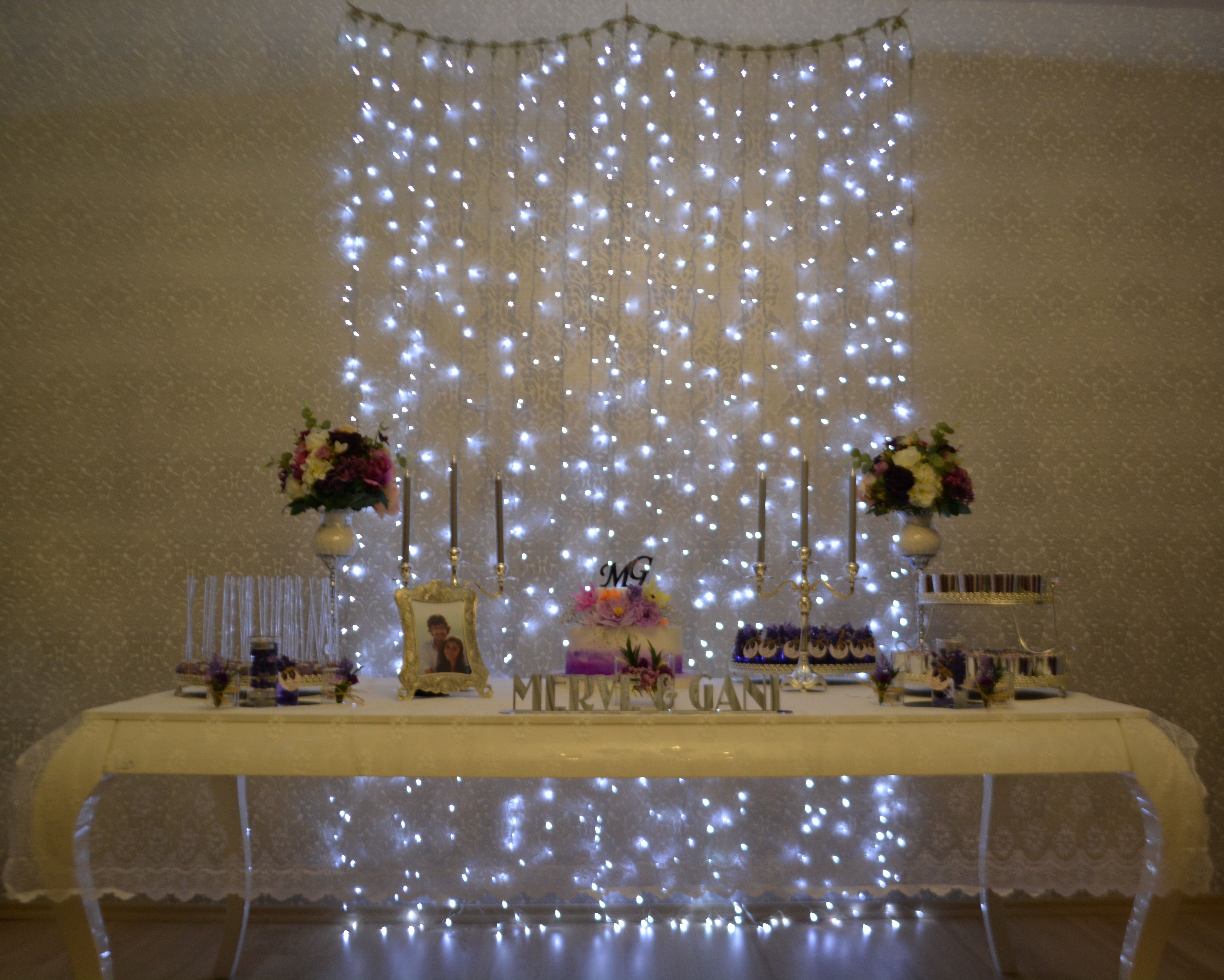 Engagement table desing decoration cake nişan nisan masası konsept I