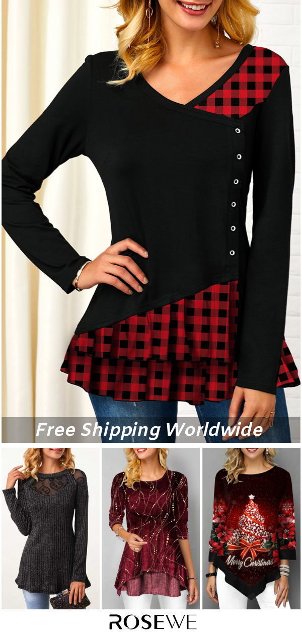 Women Tops For Winter. FREE SHIPPING OVER $20 & 30 DAYS ...