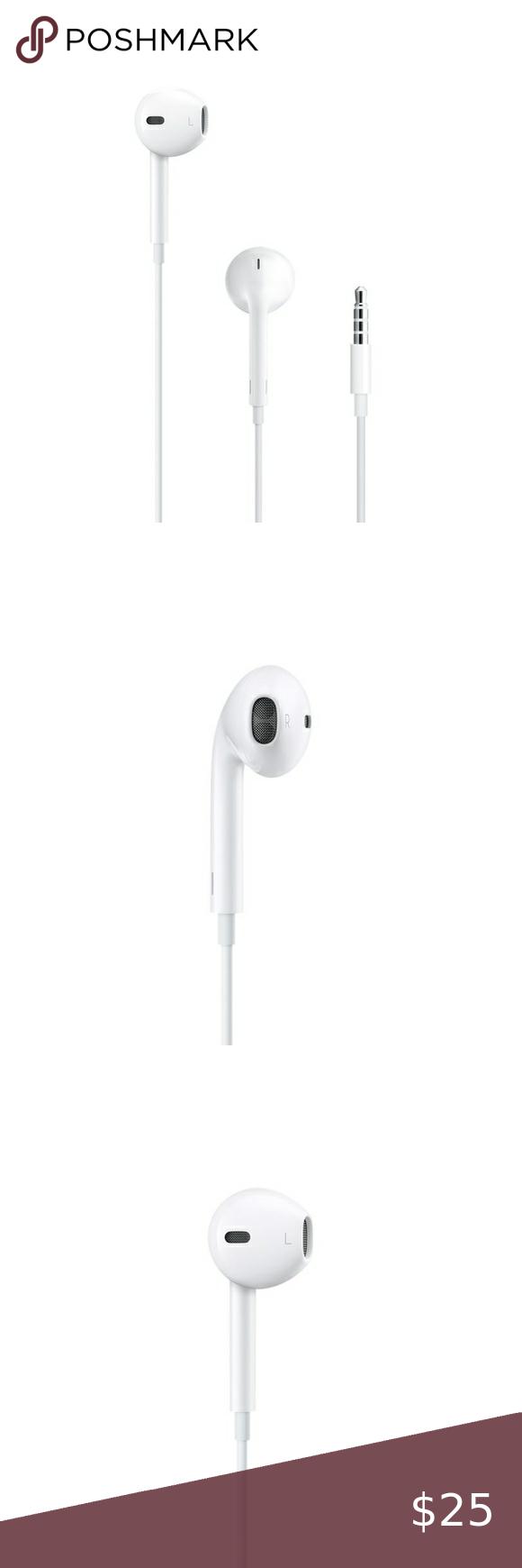 Apple Earpods With 3 5mm Headphone Plug Headphone Apple Plugs