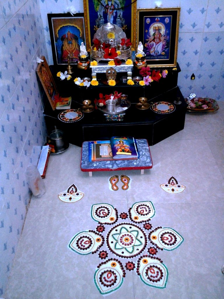 Hindu Prayer Room Design: Pooja (Hindu Home Ritual Worship) Corner