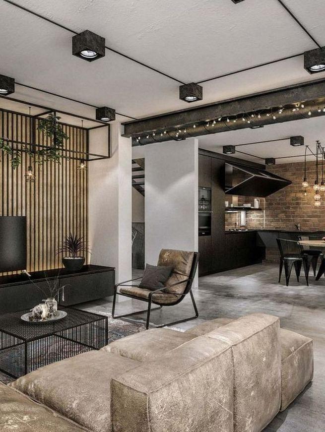 12+ Stylish Industrial Style Bedroom Design Ideas