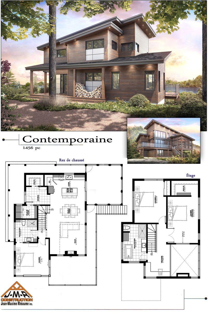 Plans Des Maisons Modèles De Construction Jean Maxime Rhéaume Inc  Entrepreneur Général Résidentiel Et Commercial