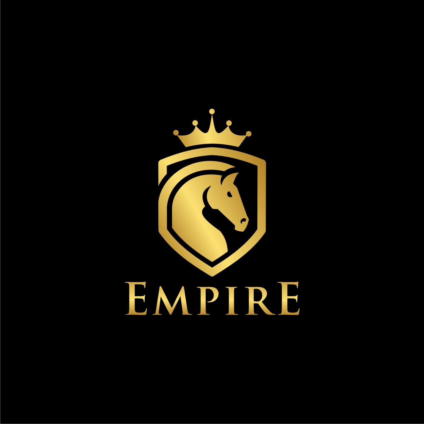 Design 228 By Kupukupu Design Empire Needs Emblem Style Logo With Horse Horse Logo Design Logo Design Branding Design Logo
