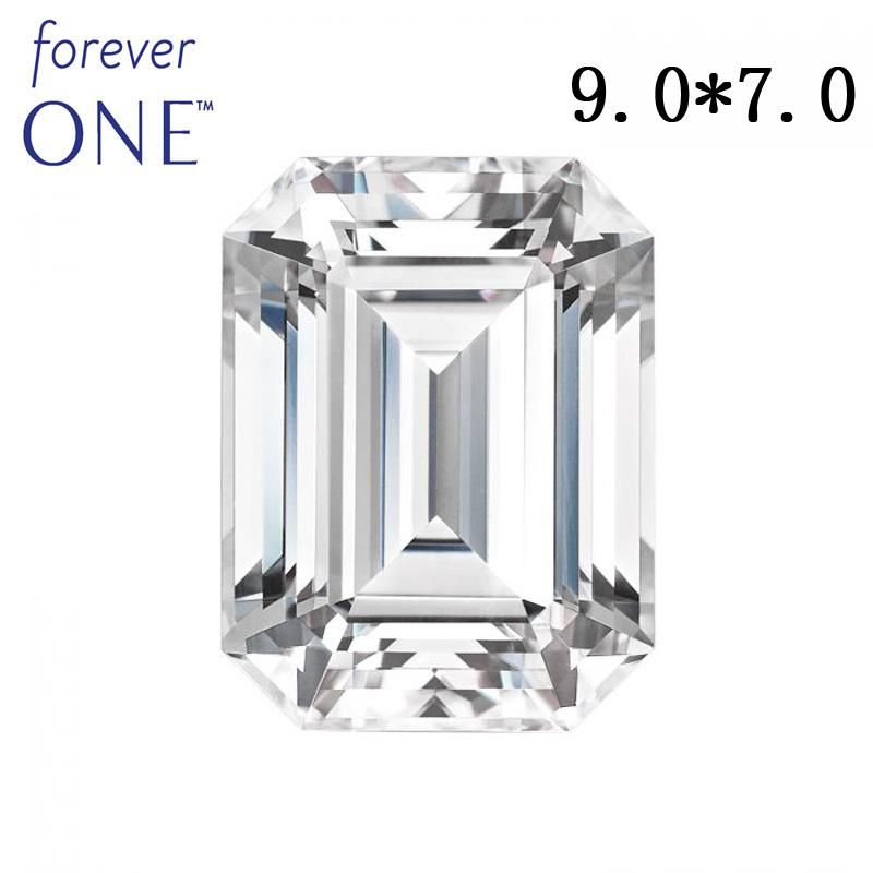 Past Diamond Tester Certified Two Carat 2Ct Emerald Cut VS