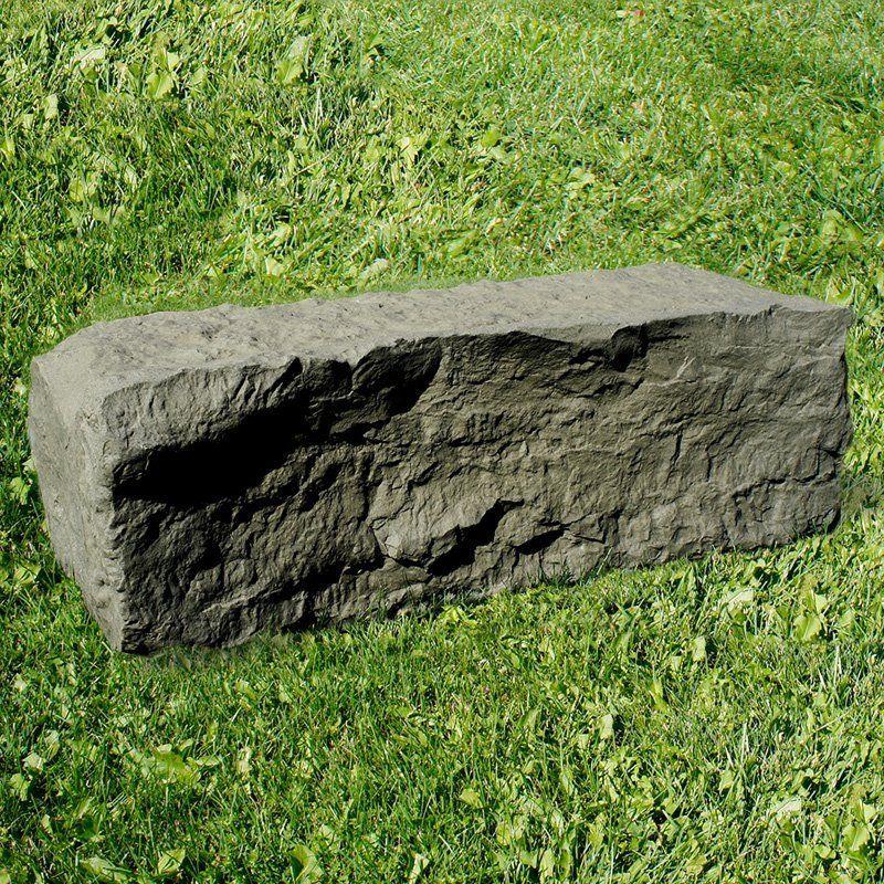 RTS Companies Inc ERG2001 Plastic Half Landscape Rock