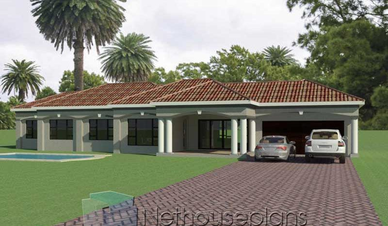 3 Bedroom House Plans South Africa   One Storey House ...