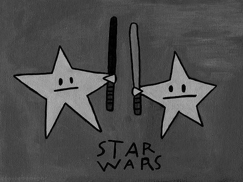 literally, stars in war