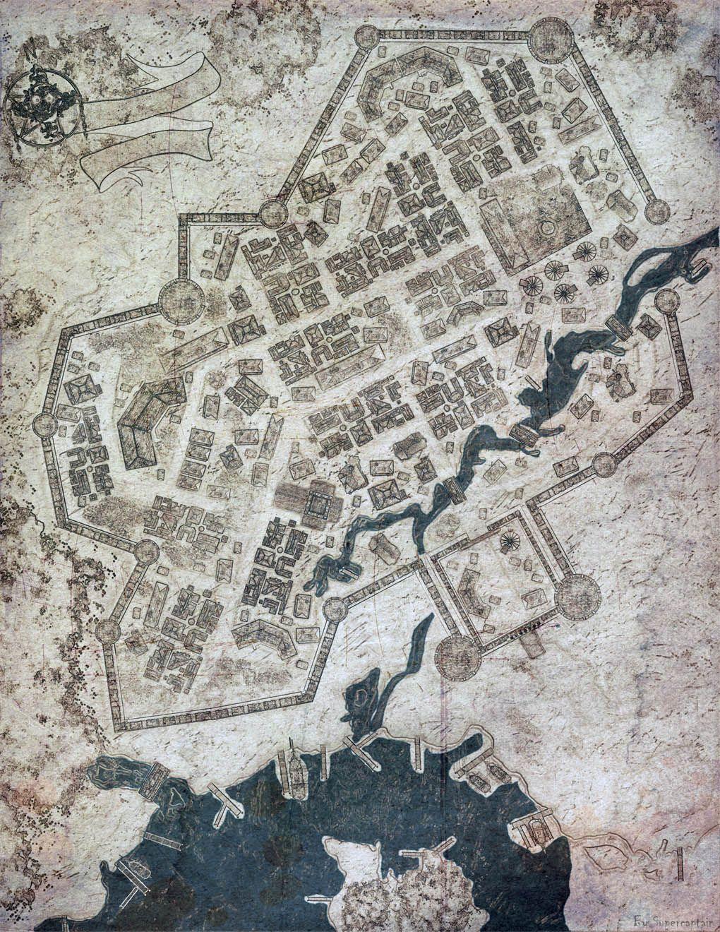 Pin By Travis Lovellette On Fantasy Maps Fantasy Map Village Map Map