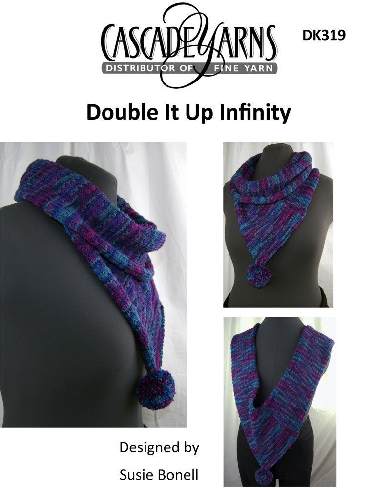 Double It Up Infinity in Cascade 220 Superwash Sport - DK319 ...