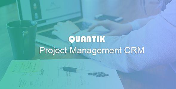 Quantik Project Manager CRM  Quantik Project Manager CRM Web