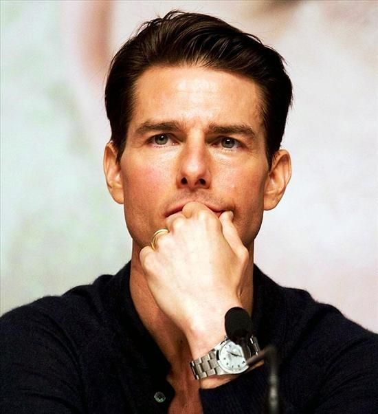 Tom cruise wears a rolex oyster perpetual datejust ii watch celebrity watches pinterest for Celebrity wearing rolex watches