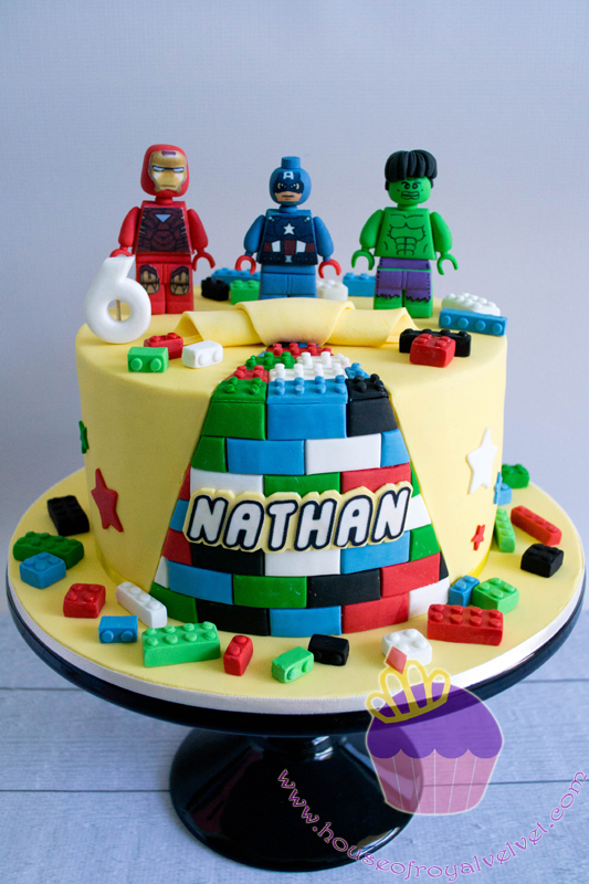 Lego League Cake Birthday