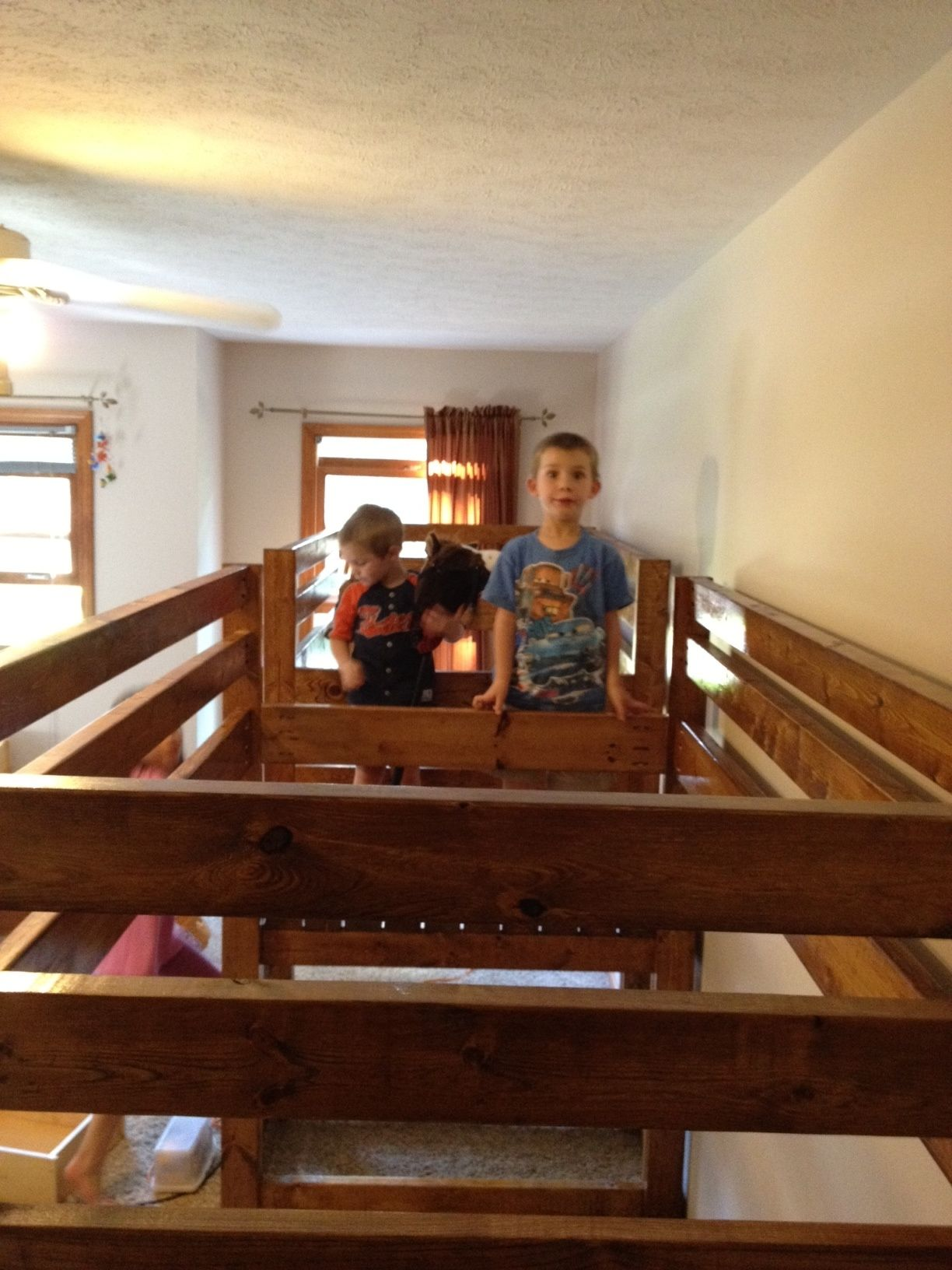 Double Wide Camp Loft Bed! Do It Yourself Home Projects