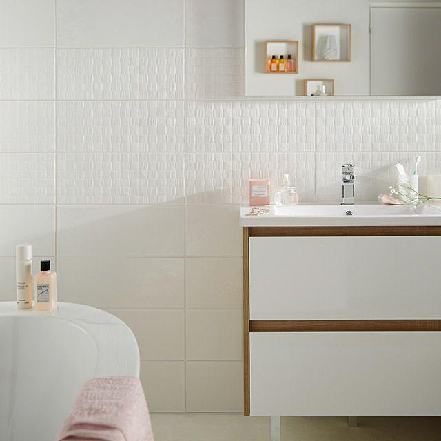 carrelage metro blanc castorama interesting dcoration. Black Bedroom Furniture Sets. Home Design Ideas