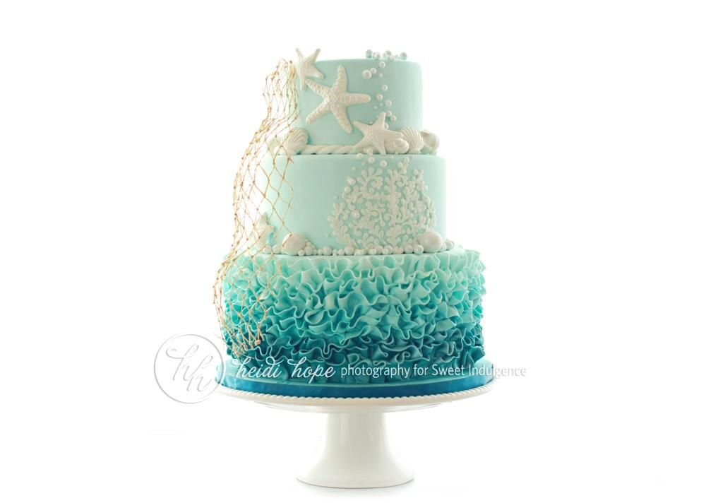 Wedding Toppers Mermaid Cake Beach Theme